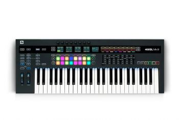 Novation 49SL MkIII Tastiera 49 tasti semi-pesati e Sequencer