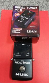 NUX PT-6 Accordatore cromatico a pedale usato con imballo