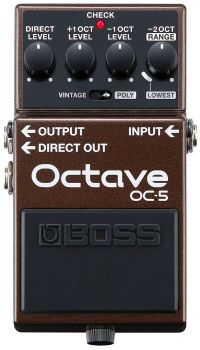 BOSS OC-5 Octave Effetto Octave a Pedale per Chitarra