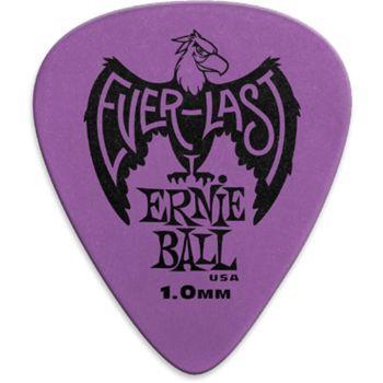 Ernie Ball  9193 Plettri Everlast Purple 1.00mm Busta da 12