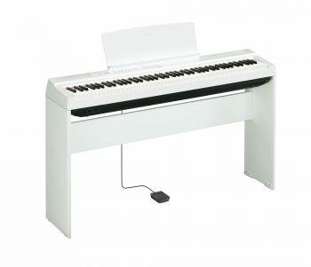 Yamaha P125WH+L125WH Pianoforte digitale 88 tasti con stand