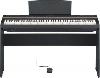 Yamaha P125BK+L125BK Pianoforte digitale 88 tasti con stand