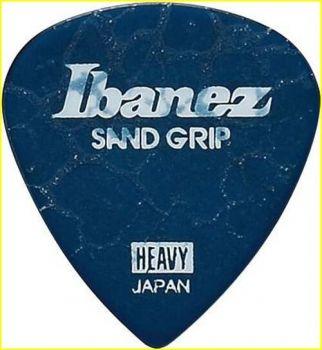 "Plettro Ibanez PA16HCG-DB plettro H grip sabbiato ""Cracked"" blu"