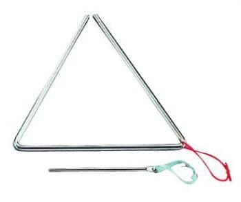 PEACE T-1G6 Triangolo in metallo con battente R230R