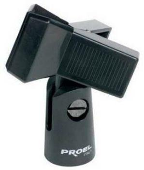 PROEL APM30 Supporto a pinza in ABS per microfono