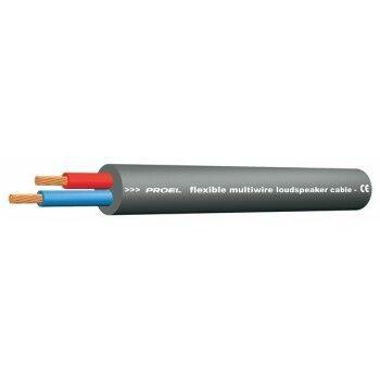 Proel HPC624BK Cavo ultra-flessibile a 2 conduttori twistati per diffusori acustici passivi