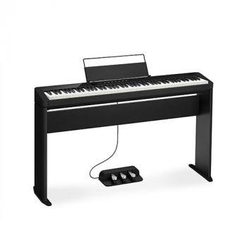 CASIO PX S1000 BK Privia Black Pianoforte 88 tasti pesati+stand CS68PBK + SP34 Unità a 3 pedali