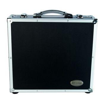 Rockcase RC 23000 B Flight Case Portapedali effetto con coperchio rimovibile