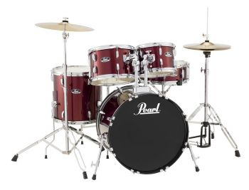 Pearl RoadShow 525SC/C No.91 Red Wine Batteria completa. NON SPEDIBILE