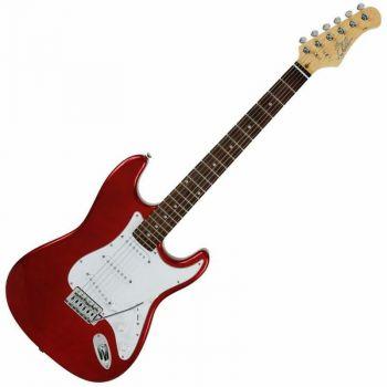 Eko Guitars S-100 3/4 Chrome Red