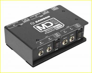 Samson MD2PRO D.I. Box Pro stereo - Passiva SPEDIZIONE GRATUITA!!!