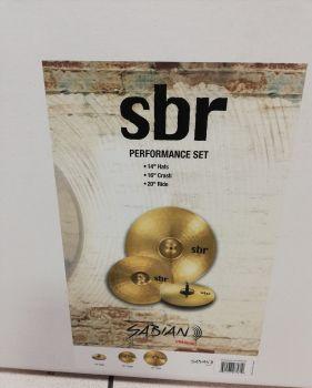 SABIAN SBr Performance Set Kit Piatti per Batteria