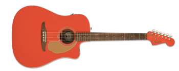 Fender LTD Redondo Player Fiesta Red
