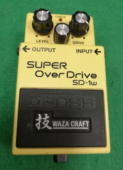 BOSS SD-1W Super Overdrive Usato
