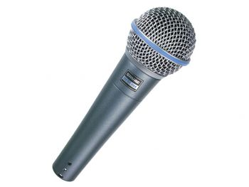 SHURE Beta58A Microfono Dinamico