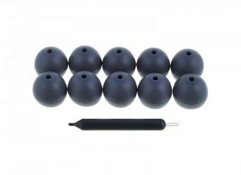 Shure EASFX1-10 M Inserti neri soffici e flessibili