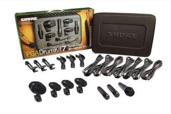 Shure PGADRUMKIT7 Set di Microfono per Batteria
