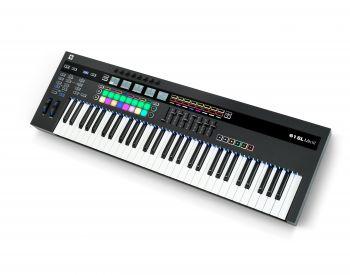Novation 61SL MkIII Tastiera 61 tasti semi-pesati e Sequencer Spedito Gratis!