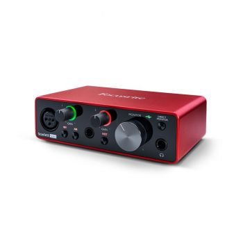 FOCUSRITE Scarlett Solo 3rd Gen Interfaccia Audio USB