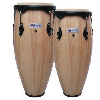 "SOUNDSATION Congas con Canestri Natural 10""+11"""