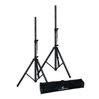SOUNDSATION SPST-SET80BK Coppia stativi per diffusori con borsa