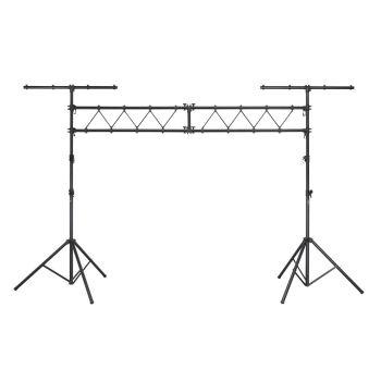 SOUNDSATION LS-300-TR Struttura luci in alluminio nero anodizzato
