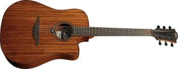 Lag Guitars T98DCE natural acustica elettrificata