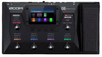 Zoom G6 - Pedaliera multieffetto e IR loader per chitarra