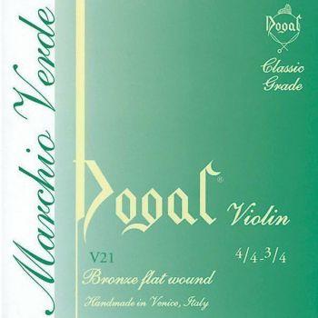 Dogal V21 Linea verde Muta per violino 4/4 - 3/4