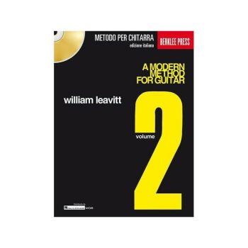 WILLIAM LEAVITT - A MODERN METHOD FOR GUITAR V. 2 + CD - IN ITALIANO