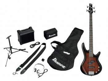 IBANEZ IJSR190-WNS  Jumpstart - Walnut Sunburst - kit con amplificatore