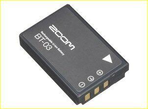 Zoom BT-03 batteria ricaricabile agli ioni di litio per Zoom Q8